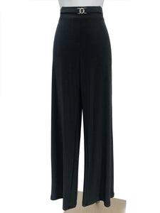Women's Charcoal Stretch Pants - Yvonne Marie