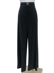 Women's Charcoal Stretch Pants - Yvonne Marie - Yvonne Marie