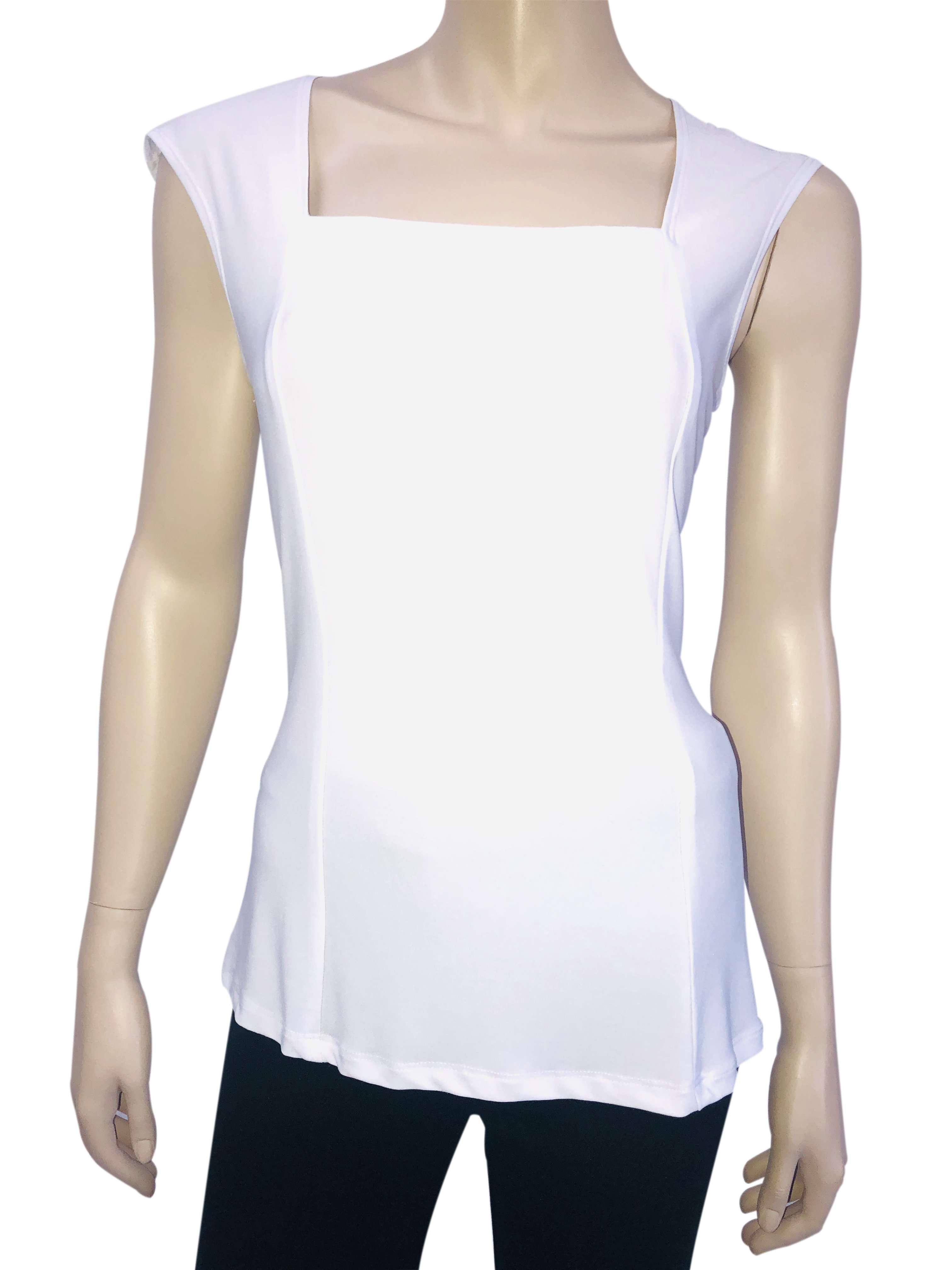 Womens Tank Tops Canada | White Tank Top | Tops On Sale | Ym Style - Yvonne Marie