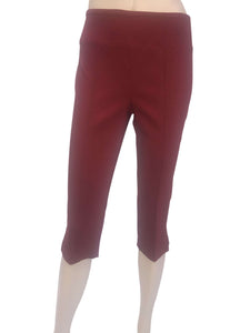 Women's Capri Red Miracle Fit Best Seller - Made in Canada - Yvonne Marie - Yvonne Marie