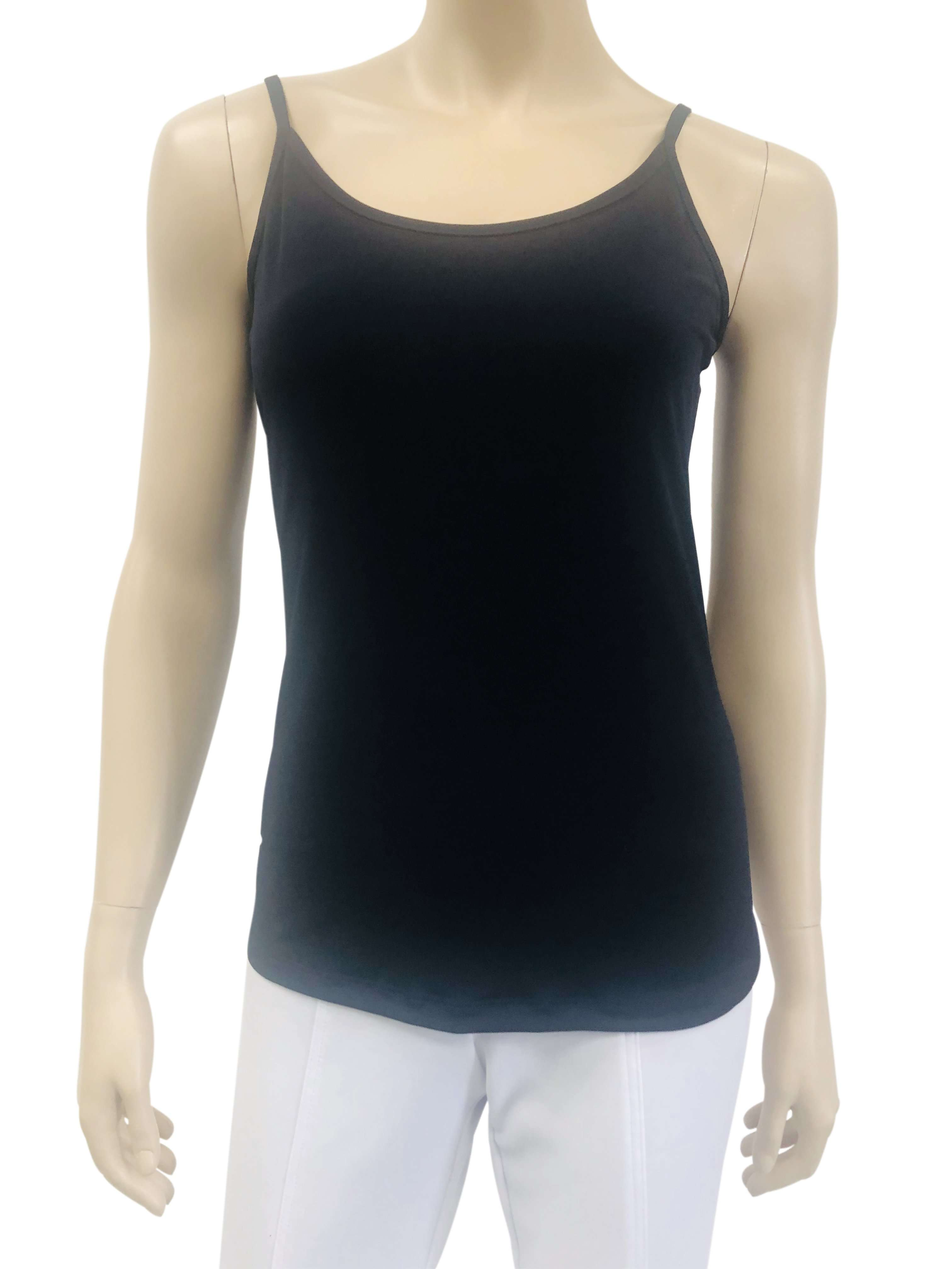 Womens Navy Spaghetti Strap Camisole - Yvonne Marie - Yvonne Marie