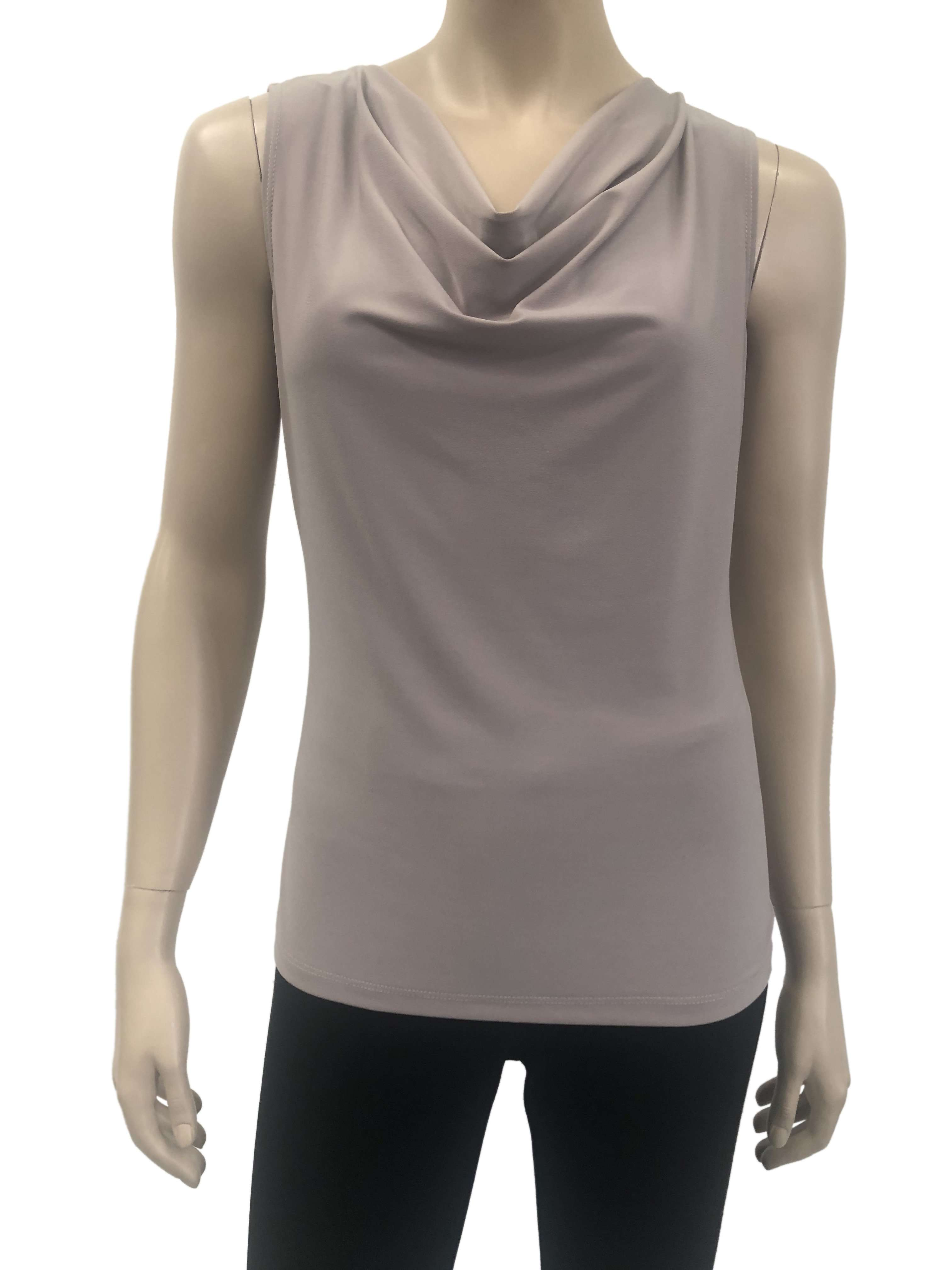 Womens Taupe Camisole - Yvonne Marie - Yvonne Marie