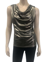 Womens Gold Camisole - Yvonne Marie - Yvonne Marie