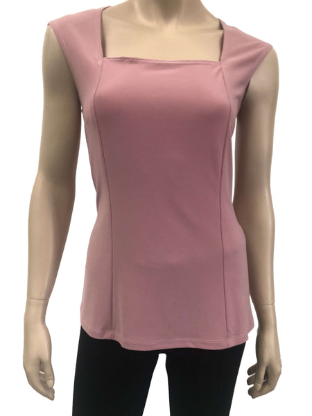 Ladies Dusty Rose Camisole