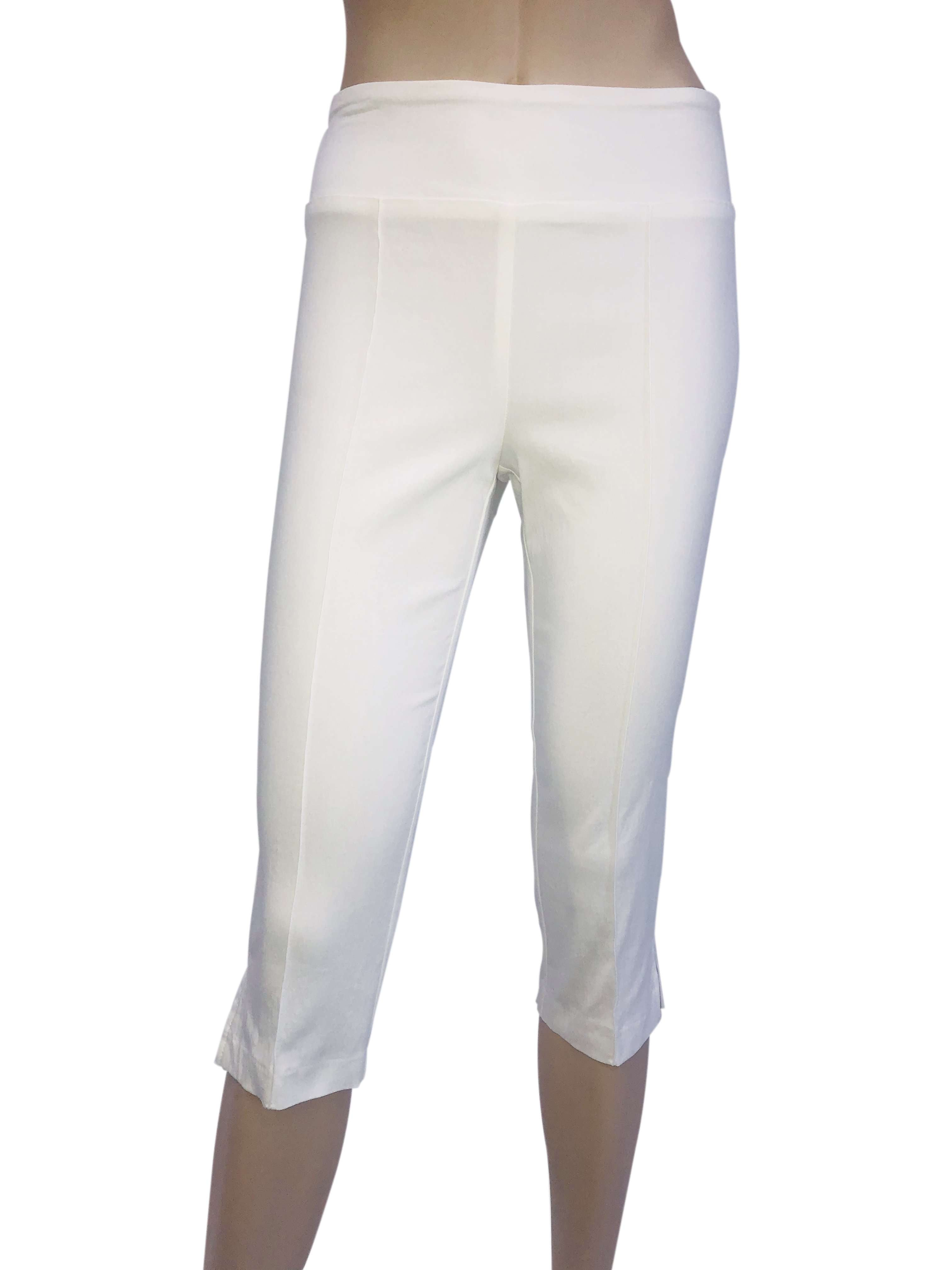 Women's Capri Ivory - Miracle Fit - Made in Canada - Yvonne Marie - Yvonne Marie