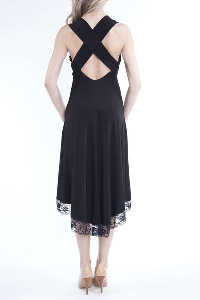 Black Dress for Special Occasion With Open Back