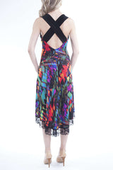 Women's Dresses on Sale Open Back Designer Dress -Made in Canada - Yvonne Marie - Yvonne Marie