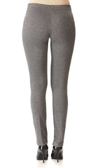 Women's Charcoal Pants -Our Best Seller Slim Pant -Made in Canada - Yvonne Marie - Yvonne Marie