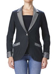 Women's Denim Jacket With Pockets - Yvonne Marie - Yvonne Marie