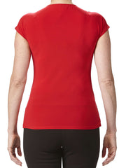 Women's Red Tops On Sale - Made In Canada - Yvonne Marie - Yvonne Marie
