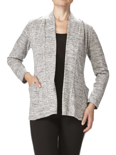 Women's Grey Cardigan With Pockets Now 50 Off-Made In Canada-Shop Local