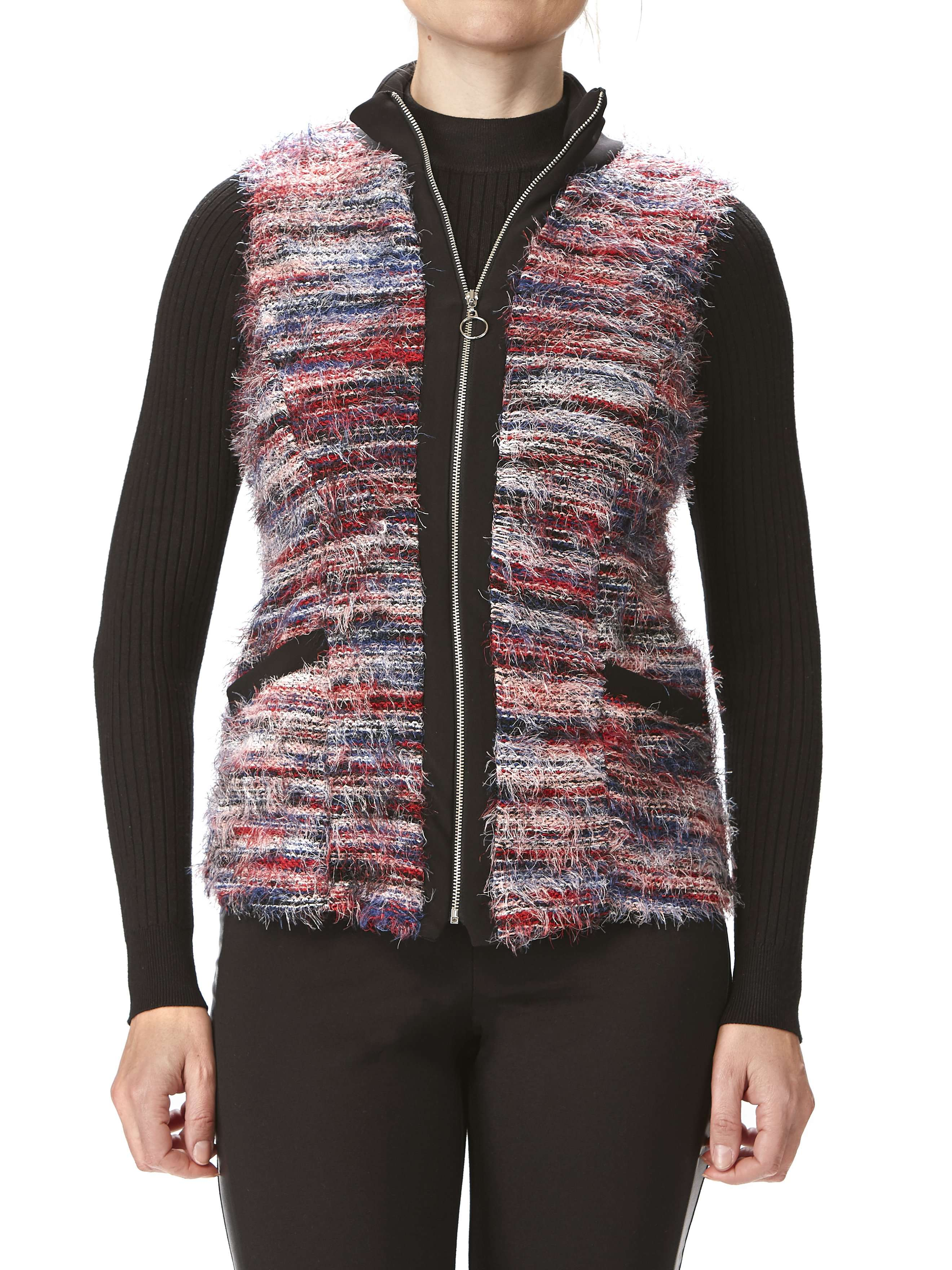 Women's Sleeveless Vest - Multi Color - Made In Canada - Yvonne Marie - Yvonne Marie