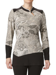 Women's Elegant Tunic Top - Made In Canada - Yvonne Marie - Yvonne Marie
