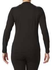 Women's Black Mock Neck Top On Sale - Made In Canada - Yvonne Marie - Yvonne Marie