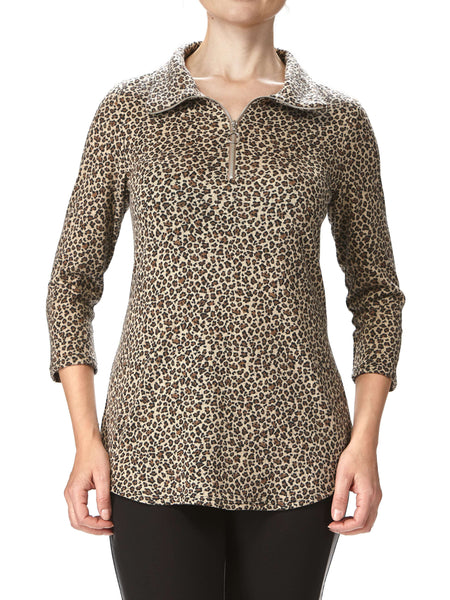 Women's Animal Print Top - Made In Canada