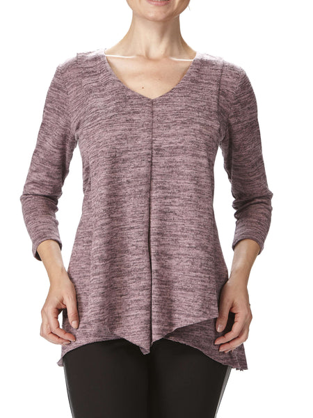 Women's Rose Flyaway Tunic Top Flattering Fit - Made in Canada