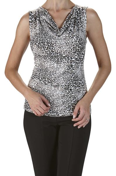 Women's Tank Tops On Sale Canada | Animal Print Tank Top | 70 Off | YM Style