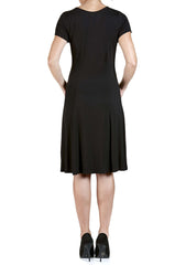 Women's Dresses Black Flattering Fit - Made in Canada - Shop Local - Yvonne Marie - Yvonne Marie
