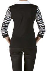 Blouse with 2 in One Feature Super Comfort and Quality - Yvonne Marie