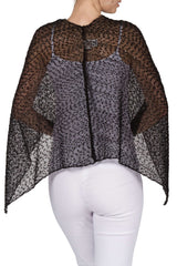 Women's Black Shawl - Yvonne Marie