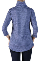 Women's Sweaters Canada | Denim Blue Sweater Top | On Sale | YM Style - Yvonne Marie