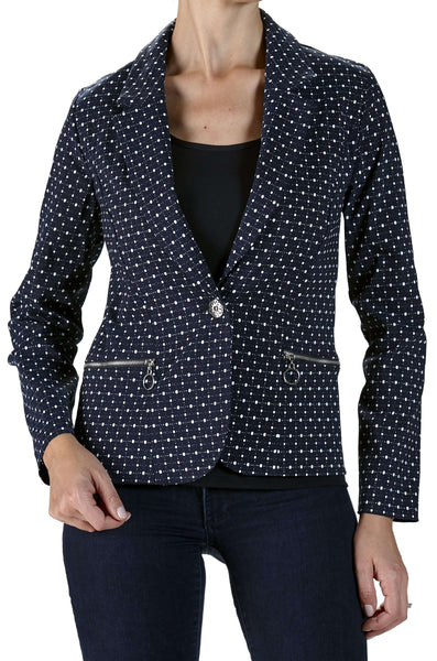 Women's Business Jacket Canada | Navy Blazer Jacket | On Sale | YM Style