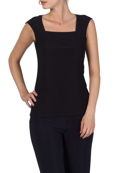 Women's Camisole Canada | Navy Camisole Square Neck | On Sale | YM Style