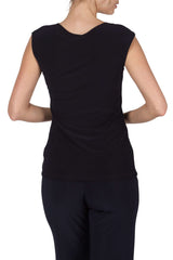 Navy Camisole Square Neckline Perfect For layering-Our Best Seller-Quality Fabric and Fit Guaranteed - Yvonne Marie