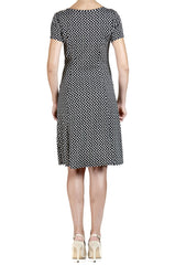 Polka Dot Dress - Fit and Flare - Yvonne Marie