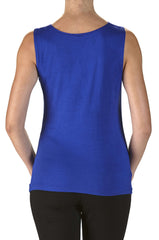 Royal Blue Camisole Top On Sale Now-50% Off-Made in Canada - Yvonne Marie