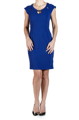 Women's Royal Blue Dress - Yvonne Marie