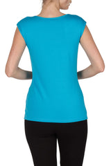 Turquoise Camisole Square Neck line Best Seller Great Fit and Quality - Yvonne Marie