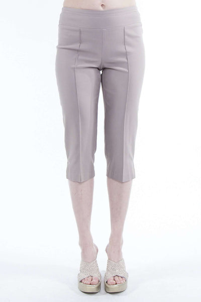 Beige Capri Pant For Travel and Cruise