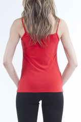 Spagetti Strap Camisole Red - Yvonne Marie