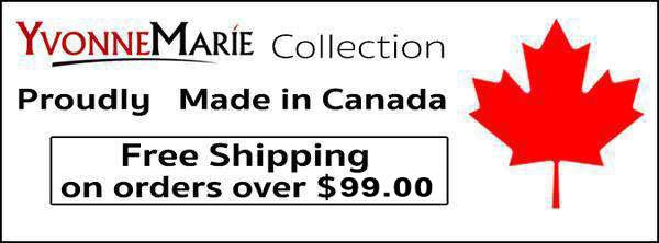 Free Shipping Made in Canada Yvonne Marie Style