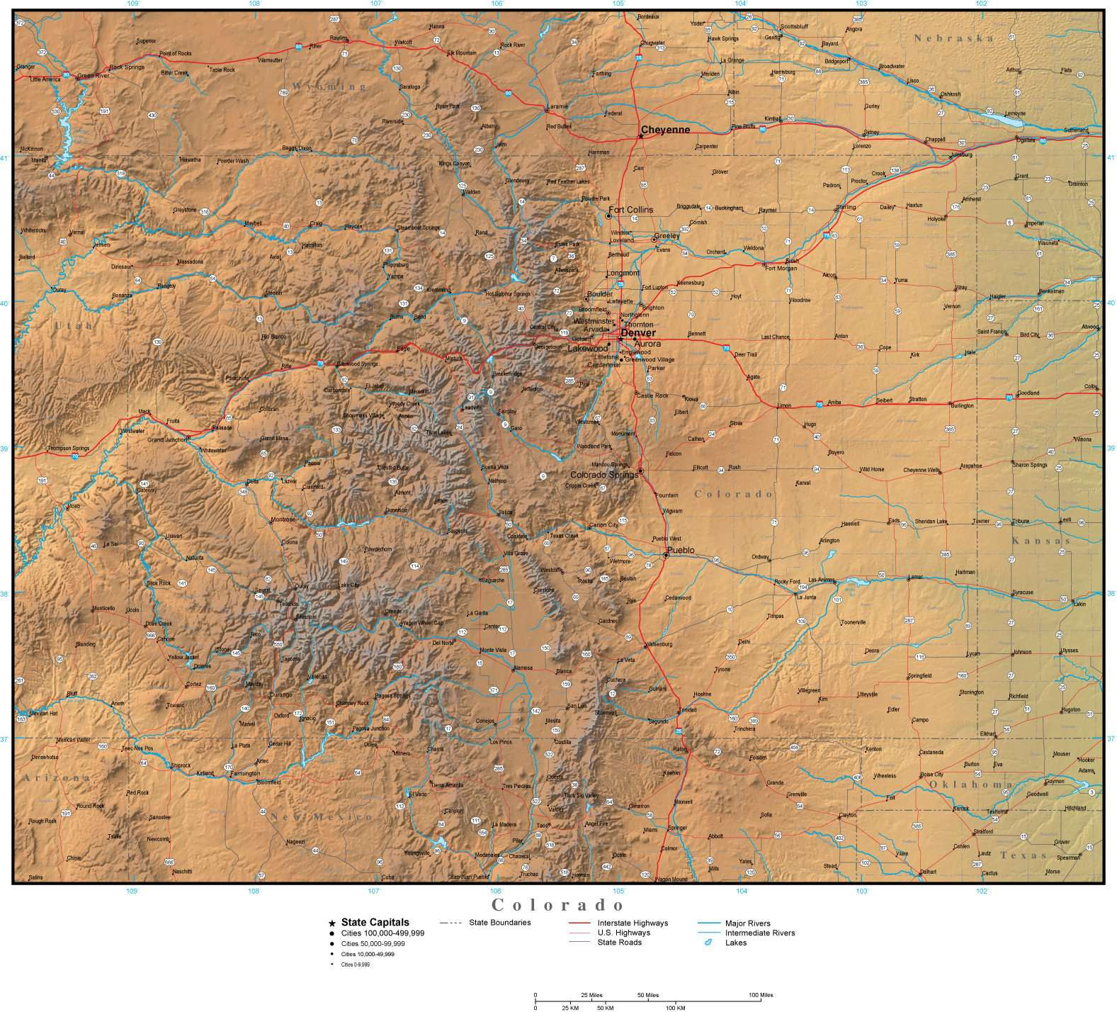 Colorado Map Plus Terrain with Cities Roads and Water Features on cities in ct, cities idaho map, cities in eastern ohio, cities alaska map, cities in western kentucky, cities in georgia area, cities and towns in colorado, cities in galveston county, cities in southern colorado, cities in southeast colorado, cities in mt, cities in la county, cities oregon map, cities arkansas map, cities in neb, cities in riverside county, cities wyoming map, cities in southern maine, cities in northwest indiana, cities south america map,