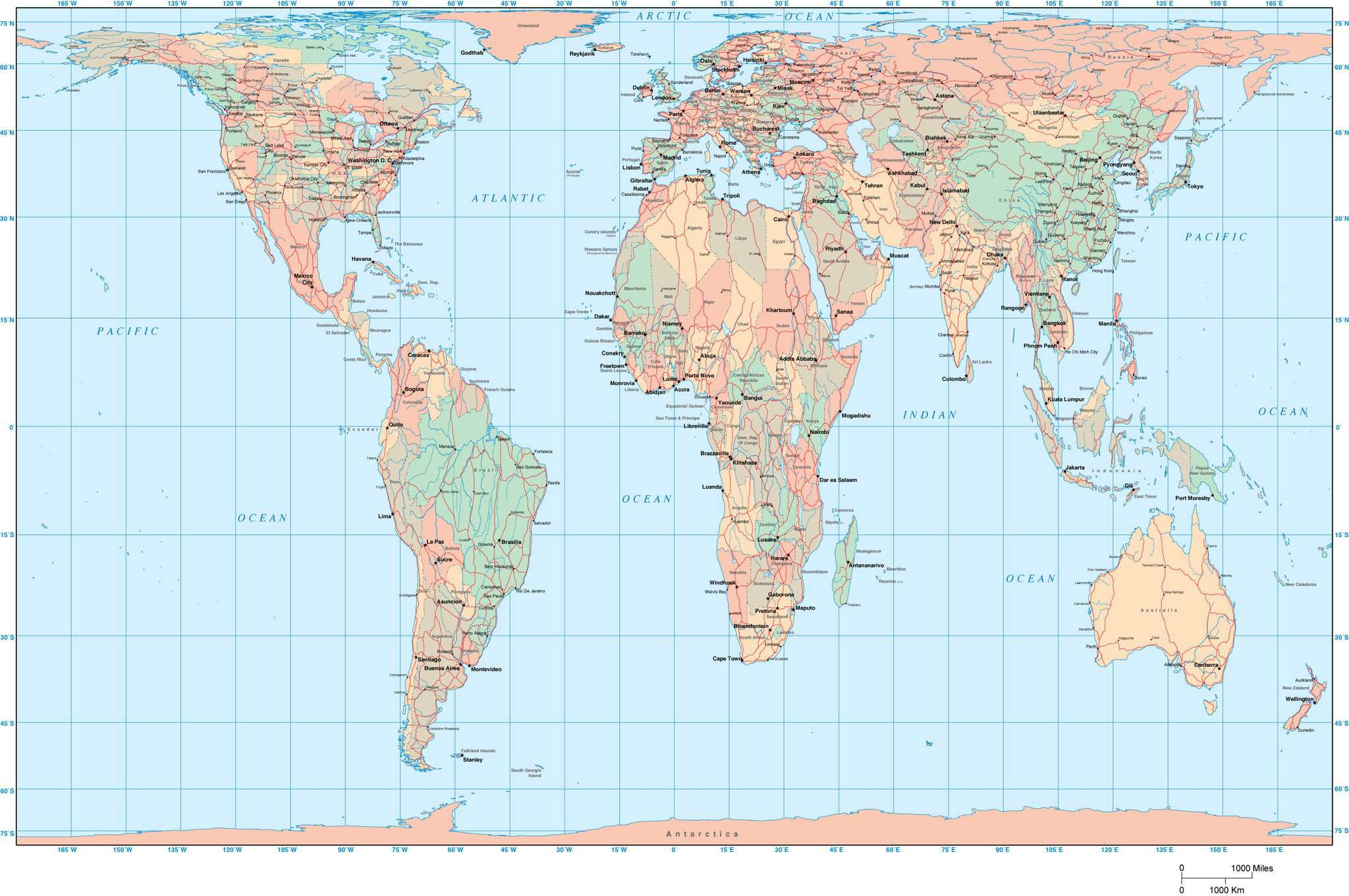 Gall Peters Projection World Map.World Map Europe Africa Centered Gall Projection Map Resources