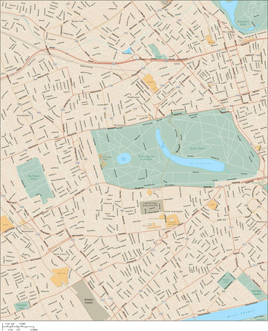 London Map Adobe Illustrator Vector Format LND-XX-985336
