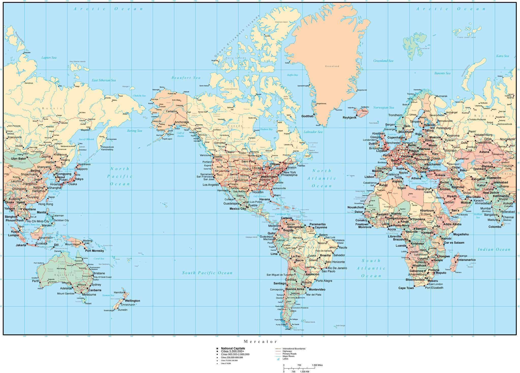 Picture of: World Map With States And Provinces Adobe Illustrator