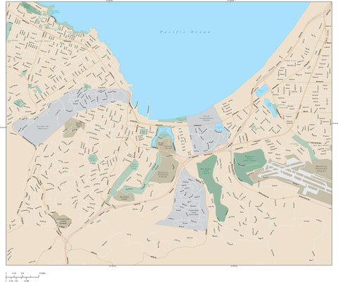 Monterey Map Adobe Illustrator Vector Format MTY-XX-985159