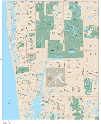 Naples Map Adobe Illustrator vector format NPS-XX-985145