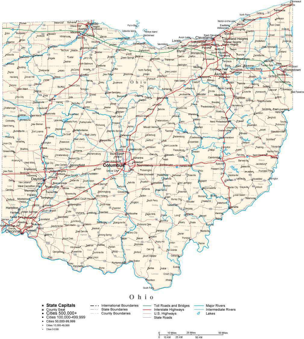 Ohio State Map in Fit-ther Style to match other states on ohio tennessee map, ohio south map, pennsylvania bordering canada map, ohio union map, ohio civil war map, ohio underground railroad map, ohio ohio map, ohio bordering states,