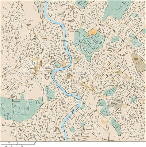 Rome Map Adobe Illustrator vector format ROM-XX-985565