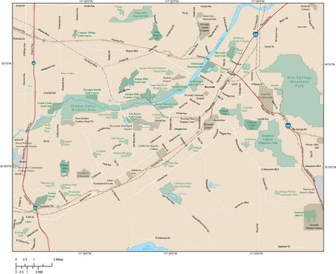 Riverside Map Adobe Illustrator vector format RVS-XX-985139