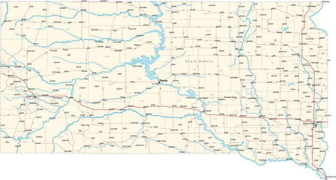 South Dakota State Map - Cut Out Style - Fit ther Series on mn map, vg map, wy map, co map, il map, wi map, tx map, cif map, canada map, usa map, penh map, nd map, kr map, id map, pal map, south dakota highway map, ne map, tn map, et map, eastern ia map,