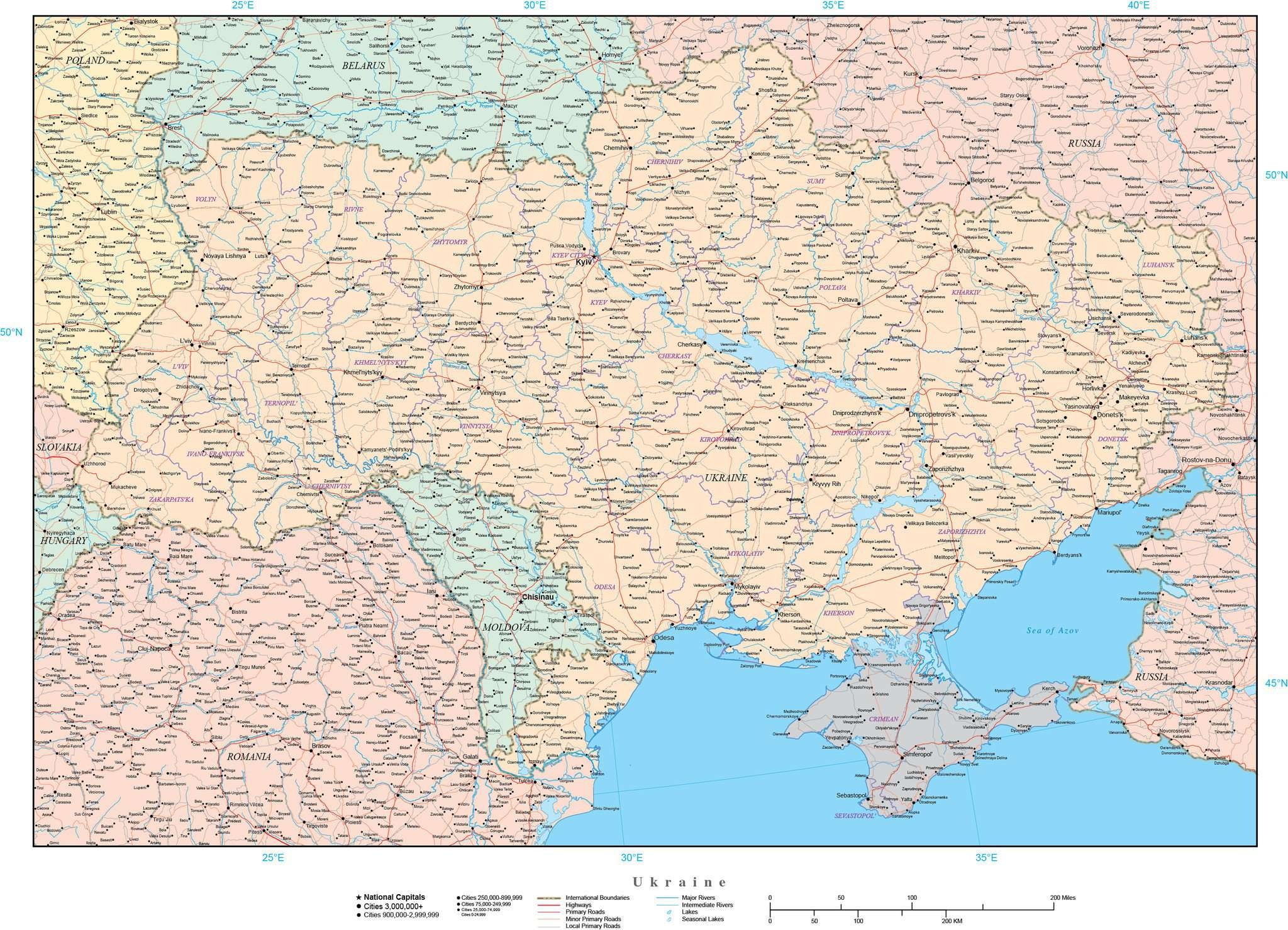 Ukraine and Crimea Map with Cities and Provinces on ukraine jersey, ukraine countryside, ukraine and europe map, ukraine country, ukraine and israel map, ukraine and turkey map, eastern front ww2 map, middle east and north africa map, ukraine and moldova map, ukraine crimea peninsula map, ukraine and armenia map, ukraine cities and towns, ukraine neighboring countries, ukraine map and cities, ukraine and greece map, ukraine and syria map, ukraine and surrounding countries, ukraine russia, ukraine map and capital, ukraine flag,