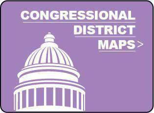 USA State Maps with Congressional Districts - Adobe Illustrator & PowerPoint Format