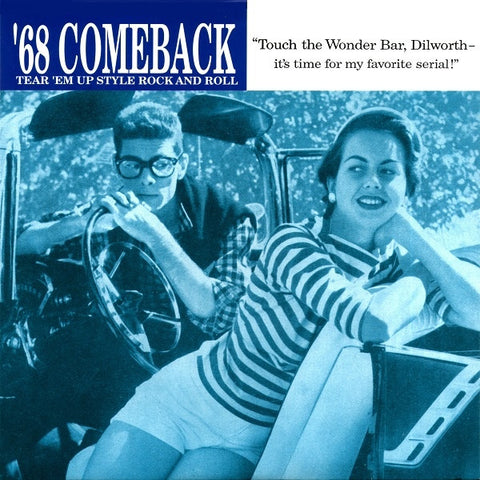 "'68 Comeback- Flip, Flop & Fly 7"" ~EX GORIES! - Get Hip - Dead Beat Records"