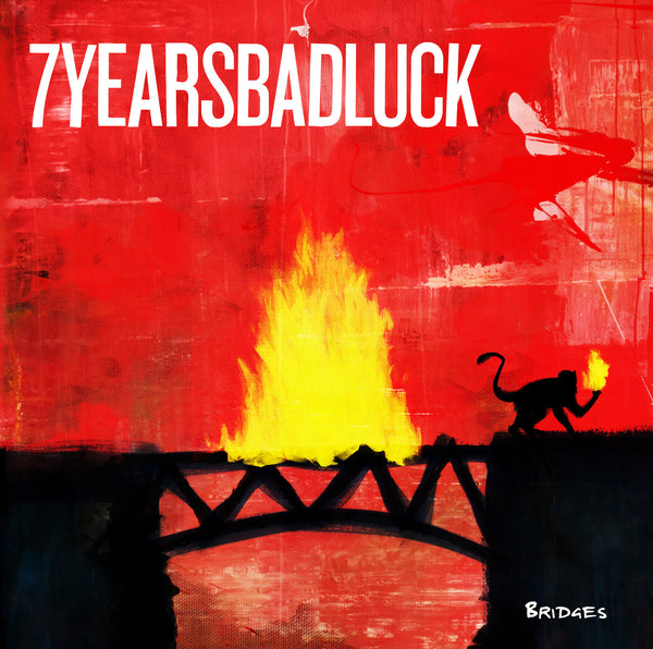 7 Years Bad Luck- Bridges LP ~FACE TO FACE!