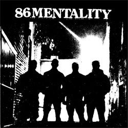 "86 Mentality – S/T 7"" - Grave Mistake - Dead Beat Records"